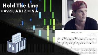 Hold The Line   Avicii, A R I Z O N A [Piano Tutorial + SheetsMIDI] (Synthesia)  Pianobin