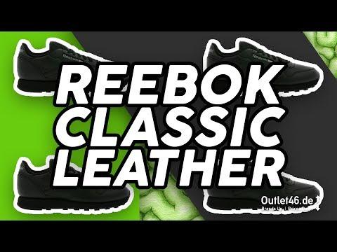 Reebok Classic Leather Herren Sneaker DEUTSCH l Review l On feet l Overview l Outlet46.de