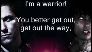 Warrior - J.O.B ft. Anjulie (LYRICS) with MadV & 12th Planet