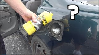 What happens if you put BRAKE FLUID in your gas tank? (You