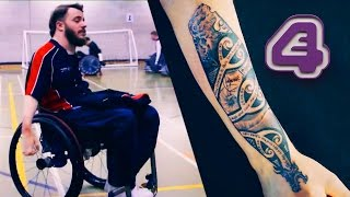Paraplegic Wheelchair Rugby Players First Tattoo To Honour Amazing Journey | Tattoo Fixers