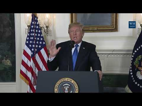 President Trump Delivers Remarks on the Iran Strategy