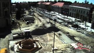 preview picture of video 'Keszthely épül - így készült a keszthelyi Fő tér'