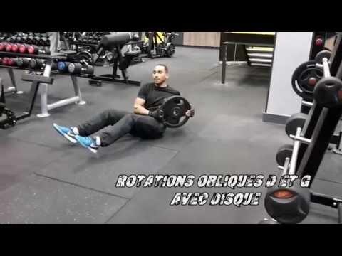 Traîner les poids pour les muscles
