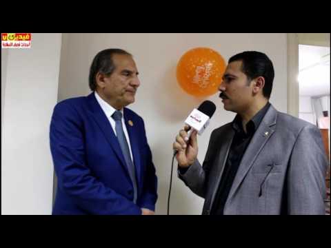 لقاء مع النائب /محمد بدوى دسوقى من احتفالية اتحاد محلى الجيزة بعيد الام