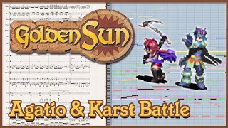 "New Arrangement: ""Agatio and Karst's Battle Theme"" from Golden Sun: The Lost Age (2002"