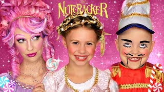 Disney The Nutcracker and the Four Realms Clara, Sugarplum Fairy and Nutcracker Makeup and Costumes!