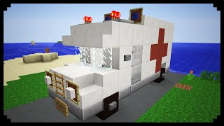 ✔ Minecraft: How to make an Ambulance