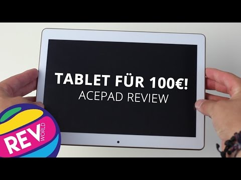Tablet für knappe 100€! ACEPAD Review| REVWORLD