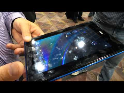 Acer Iconia B1 Android Tablet Hands-on