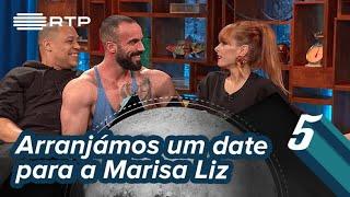 Arranjámos um date para a Marisa Liz | 5 Para a Meia-Noite | RTP