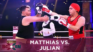 Matthias Mangiapane vs. Julian F.M. Stöckel | Knockout bei Ladies Night | Promiboxen