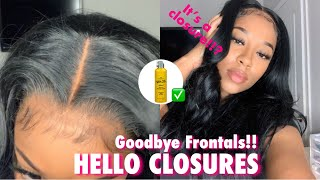 BEGINNER FRIENDLY 4x4 LACE CLOSURE WIG INSTALL IN 5 MINUTES USING GOT 2B FREEZE SPRAY