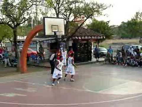 Final Liga del Parque de Baloncesto
