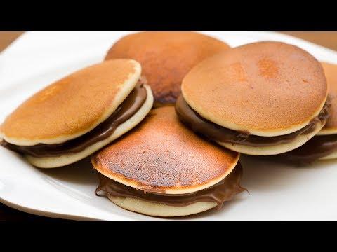 EGGLESS DORA CAKE RECIPE l DORAYAKI l DORA PANCAKES l KID'S FAVOURITE FOOD RECIPE
