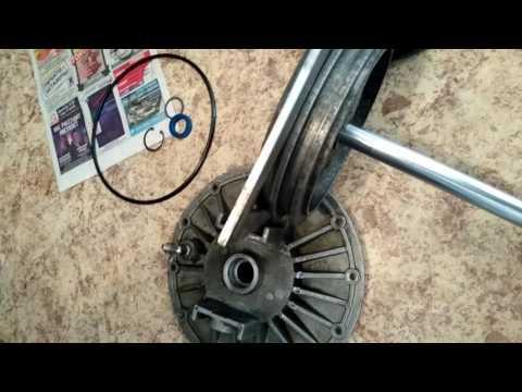 Устройство и ремонт отжимного пневмоцилиндра шиномонтажного станка гаро с601