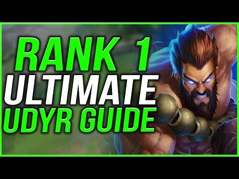 #1 UDYR WORLD S9 ULTIMATE UDYR GUIDE! EVERYTHING YOU NEED TO KNOW IN ONE GUIDE! - League of Legends