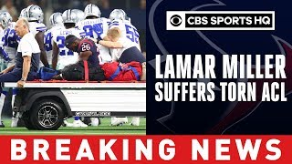 Texans reportedly fear torn ACL for Lamar Miller after nasty hit vs. Cowboys | CBS Sports HQ