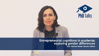 Entrepreneurial cognitions in academia: exploring gender differences