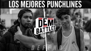 Las MEJORES RIMAS de la DEM BATTLES! 🇨🇱 - DEFEND 2017