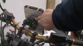Tablet Halterung fürs Motorrad bauen -- die Zweite