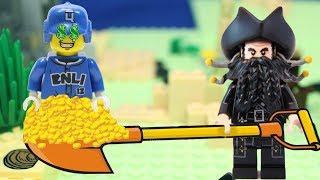 ПРОКЛЯТЫЕ СОКРОВИЩА! Новый Лего мультик. Анимация 2018.