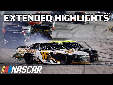NASCAR NRA ナイトレース(ブリストル・モーター・スピードウェイ)Xfinityクラスのハイライト動画