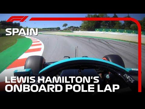ルイス・ハミルトンのポール・ポジションオンボード映像 F1第4戦スペインGP