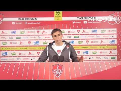 Amiens - Brest   Conférence de presse d'avant-match
