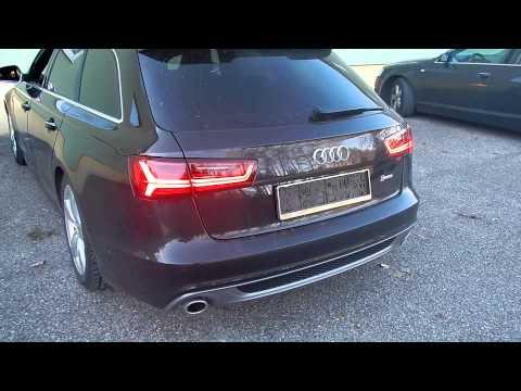 Vorfacelift Audi A6 Avant umgebaut auf Facelift Rückleuchten