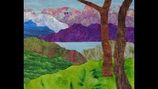 Mountain Lake Landscape Fall 2019