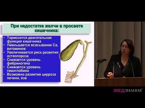 10 Дисфункция билиарного тракта у детей