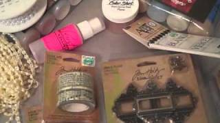 Lindys Stamp Gang, JoAnn, Hobby Lobby & Michaels Haul