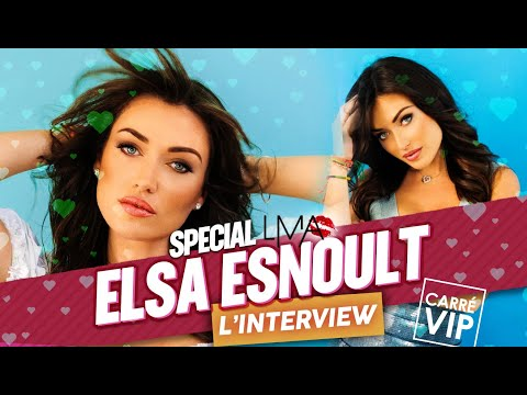 Elsa Esnoult l'interview dans Carre Vip sur RTS (émission spéciale LMA)