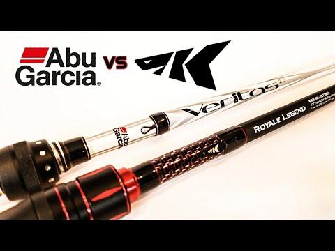 Abu Garcia Veritas vs KastKing Royale Legend (2018 Rod Comparison)