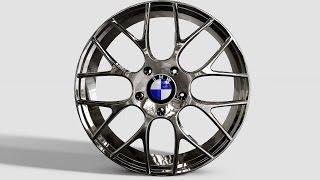Autodesk Inventor - BMW M5 Rim DesignTutorial