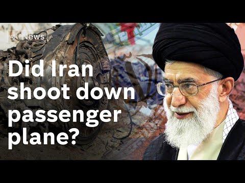 Iran denies shooting down passenger plane