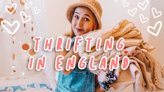 Come Thrift With Me in the UK + Thrifting Haul