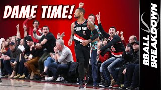 Damian Lillard ERUPTS For A Career High 61 In Overtime | NBA Highlights