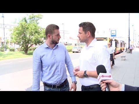 HIT! Ostre spięcie między Rafałem Trzaskowskim a dziennikarzem TVP!