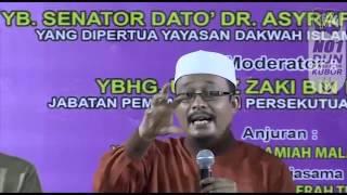PRK Pengkalan Kubor| Ustaz Kazim Elias Jawab Fitnah PAS Terhadap Tun M Mengenai Hudud