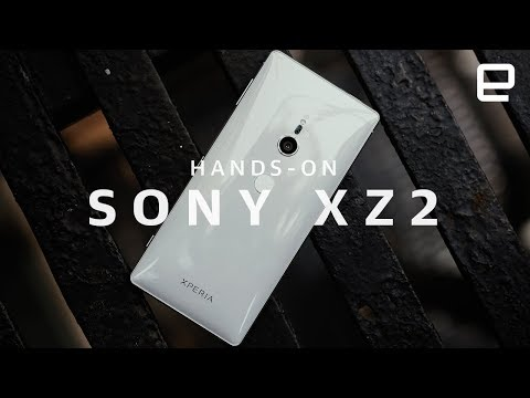 Sony Xperia XZ2 Hands-On at MWC 2018