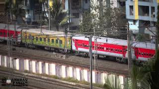 preview picture of video '7TH floor capture TWIN VSKP WDG-3A with Yesvantpur - Jaipur Weekly Special'