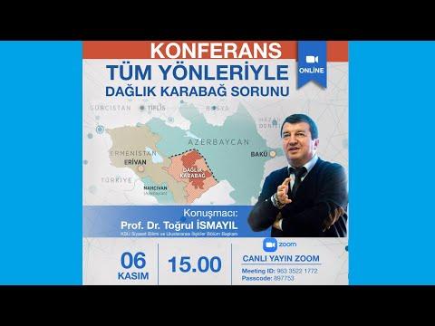 ERUSAM KONFERANS: Tüm Yönleriyle Dağlık Karabağ Sorunu-(06.11.2020)