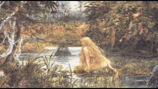 """Let us introduce  """"Huldra"""" the lady of the forest a seductive forest creature."""