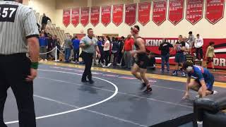 Kingsway's Quinn Kinner wins fourth district title