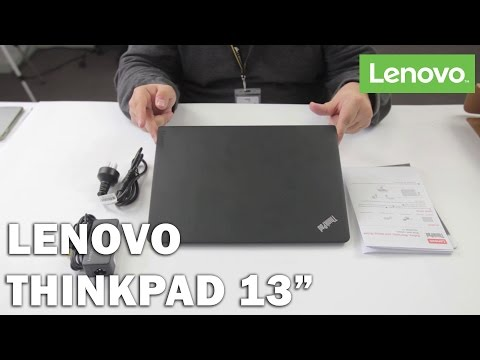 "Lenovo Thinkpad 13"" Unboxing"