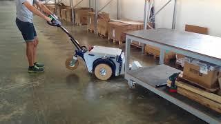 Поводковая электрическая тележка Zallys M4