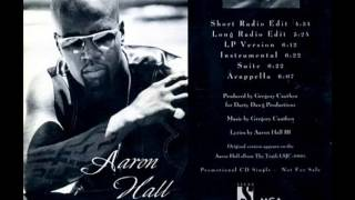 Aaron Hall - I Miss You (Acapella)