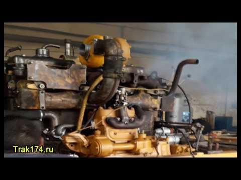 Обкатка двигателя Д-160